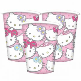 Hello Kitty Princess Party Cups pk8