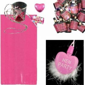 Hen Night Party Cello Bags, pre-filled (no. 2), one supplied
