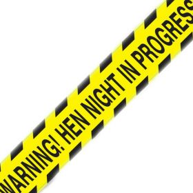 Hen Night Party Warning Tape