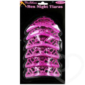 Hen Night Tiaras pk6