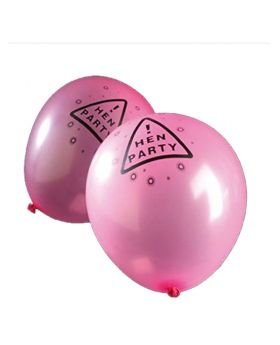Hen Night Balloons