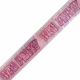 Hen Party Foil Banner