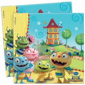 Henry Huggle Monster Paper Party Napkins, pk20