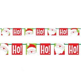 """""""Ho Ho Ho"""" Christmas Bunting 1.5m"""