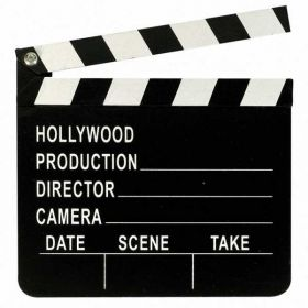 Hollywood Director's Clapboard