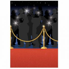 Hollywood Red Carpet Room Scene Setter