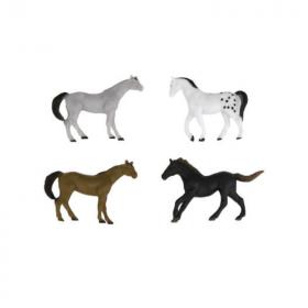 10 Horses Figures