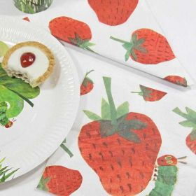 The Very Hungry Caterpillar Colourful Party Napkins pk20