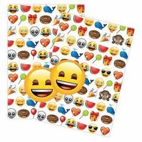 Emoji Gift Wrap & 2 Tags