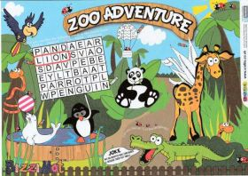 Zoo Bizzi Place Mat