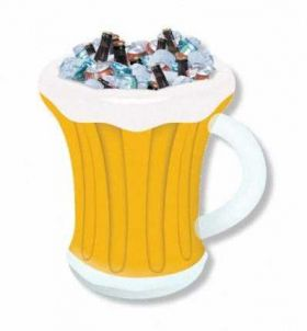 Inflatable Beer Mug Drinks Cooler