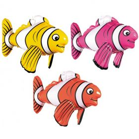 Inflatable Striped Fish