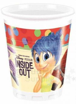 Inside Out Plastic Cups Pk8