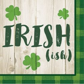 Everyone's Irish (ish) Beverage Napkins, pk16