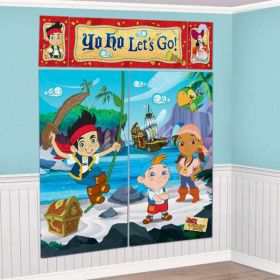 Jake & the Neverlands Pirates Scene Setter Decoration