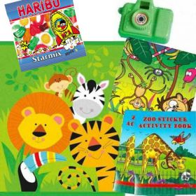 Animal Jungle Filled Party Bag (no.1), one supplied