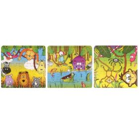 Jungle Animals Jigsaw Puzzles