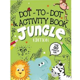 Jungle Animals Activity Book