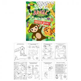 Jungle Fun Puzzle Book