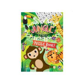 Jungle Puzzle Fun Book