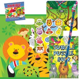 Filled Jungle Animals Party Bags