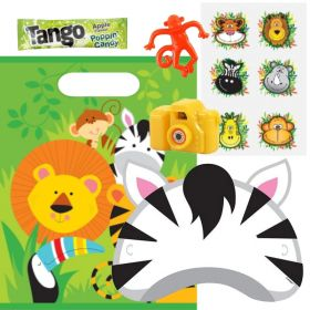 Filled Animal Jungle Party Bags