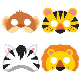 Animal Jungle Masks