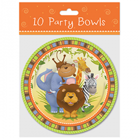Jungle Party Bowls 10pk