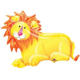 "Jungle Party Lion SuperShape 35""/89cm W X 25""/64cm H"