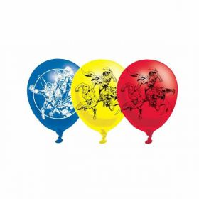 Justice League Latex Balloons pk6