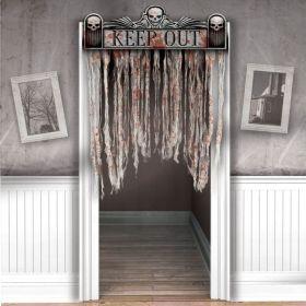 The Chop Shop Bloody Doorway Curtain 1.4m