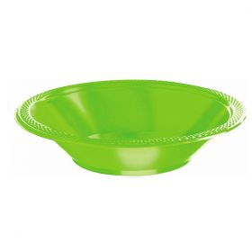 Lime Green Party Bowls, pk20