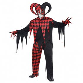Krazed Jester Clown Costumes
