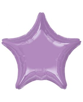 Metallic Lavender Star Foil Balloon