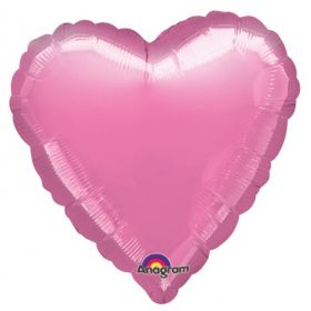 Metallic Lavender Heart Foil Balloon