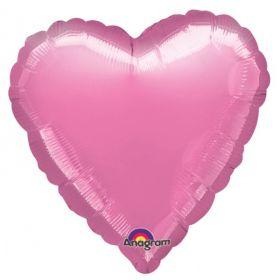 Metallic Lavender Heart Foil Balloon