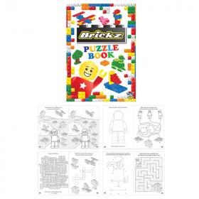 Brickz Fun Puzzle Book