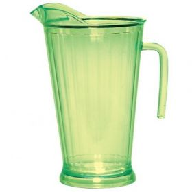 Lemon Lime Plastic Pitcher