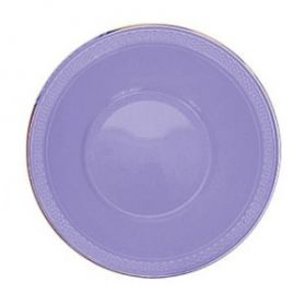 Lilac Plastic  Party Bowls 20pk