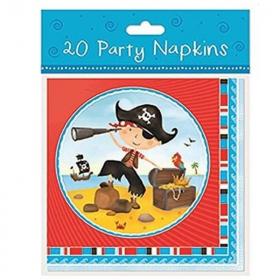 Little Pirate Napkins