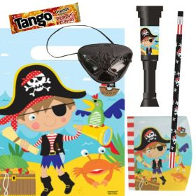 Filled Little Pirate Party Bags