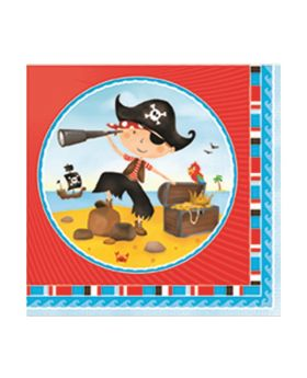Little Pirate Napkins