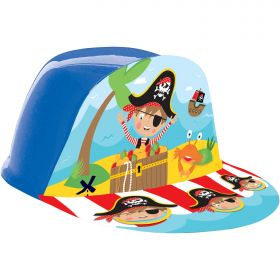 Little Pirate Plastic Hats