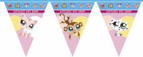 The Littlest Pet Shop Party Flag Banner