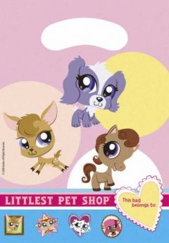 The Littlest Pet Shop Party Bags 6pk