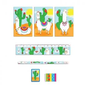 Llama Stationery Set