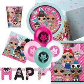 LOL Surprise Party Supplies Kit