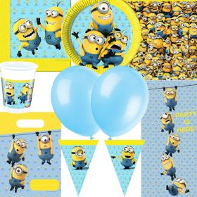 Lovely Minions Ultimate Party Supplies Kit for 8