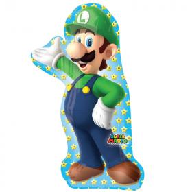 Luigi SuperShape Foil Balloon 38''