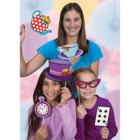10 Mad Hatter Tea Party Photo Booth Props